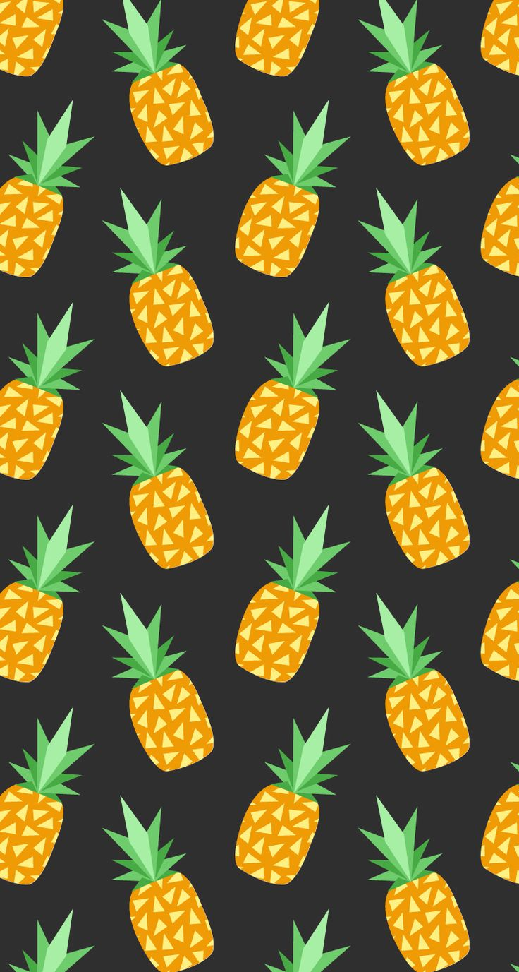 Pineapple pattern background - photo#15