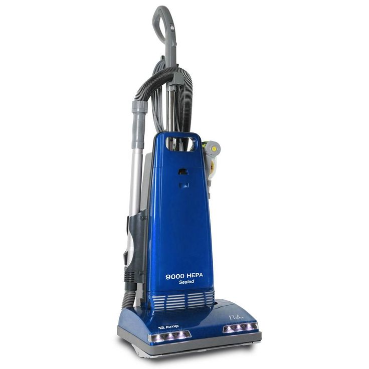 Prolux Upright Sealed Hepa Vacuum with 12 AMP Motor Onboard Tools, Blues