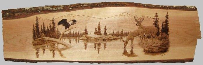 36 Awesome wood burning art images