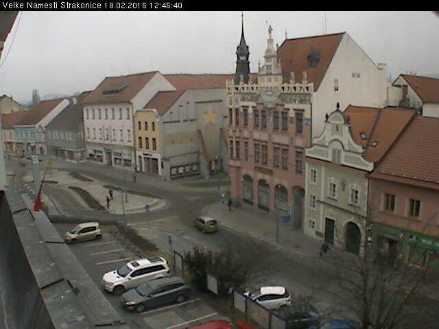Strakonice - Czech Republic Live webcams City View Weather - Euro City Cam