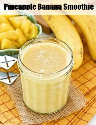 Pineapple and Banana Smoothie Recipe - a Healthy Smoothie Recipe in 2014 (http://greensmoothierecipe.org/pineapple-and-banana-smoothie-recipe/)