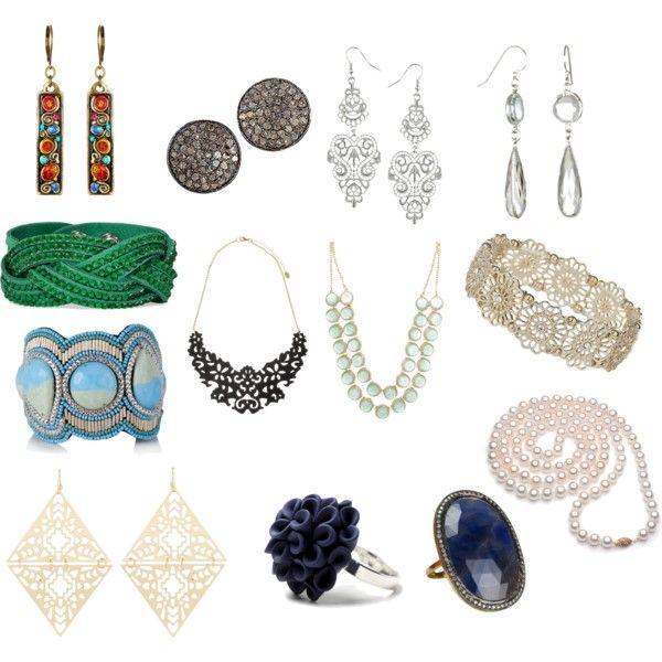 """""""Jewellery for #romantism"""" by lovemybodyru on Polyvore"""