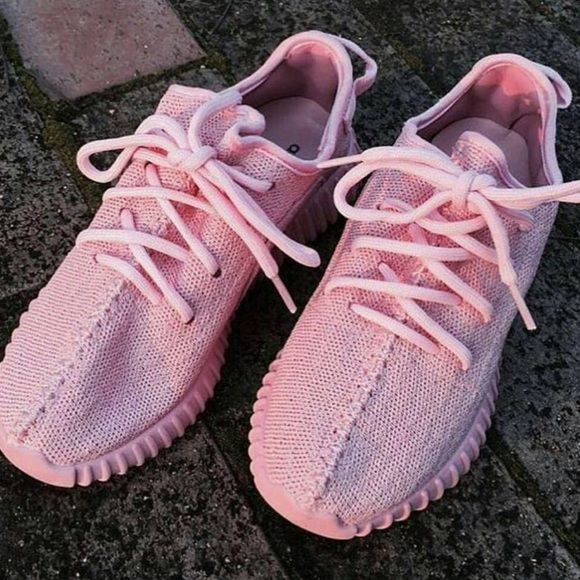 Pink Yeezy boost 350 New Yeezy Shoes Sneakers