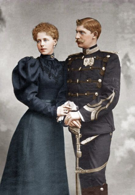 King Ferdinand and Queen Marie of Romania
