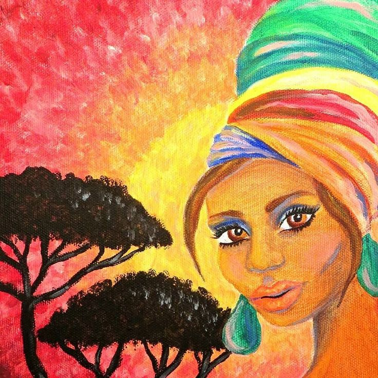 African girl in acrylics. Coloring page of her is available in my Etsy shop link in bio!  #coloring #colouring #coloringpage #arttherapy #lovecoloring #väritys #värityskuva #lowbrowart #coloringbook #coloringforadults #coloringbookforadults #coloringbooks #coloringpage #colortherapy #värityskirja #värityskuva #värityskirjaaikuisille #aikuistenvärityskirja #africanart #africangirl #lowbrowart #portrait #sunsetpainting #acrylic #acrylics #acrylicpainting