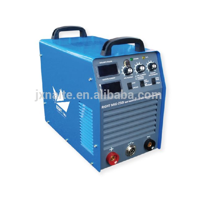 Industrial IGBT moudle inverter welders mig 250 amps welding machine