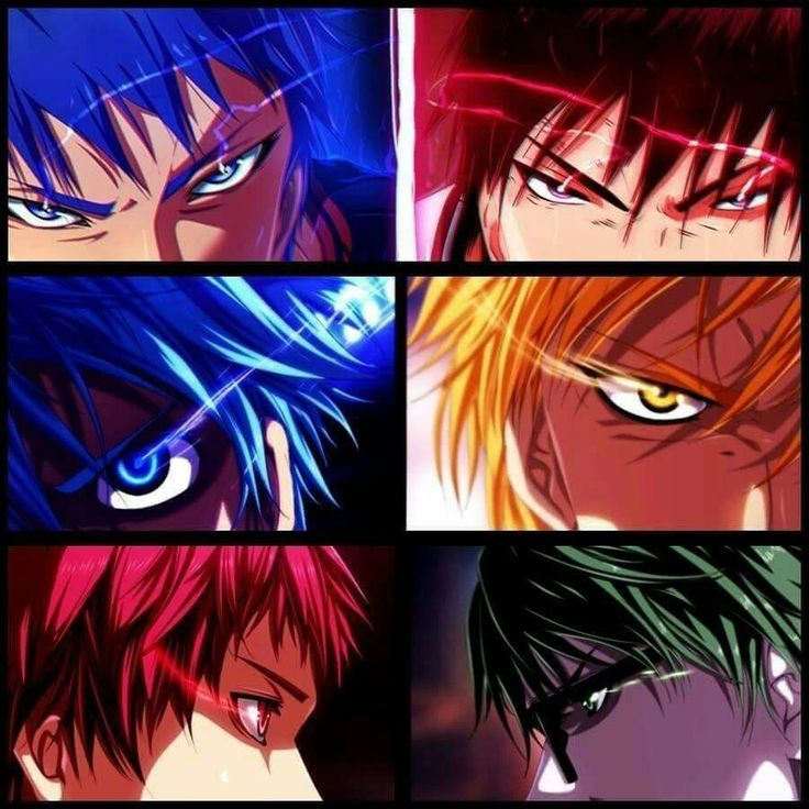 What would the Zone be for Kuroko and Midorima?