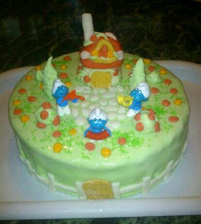 Törpikés torta
