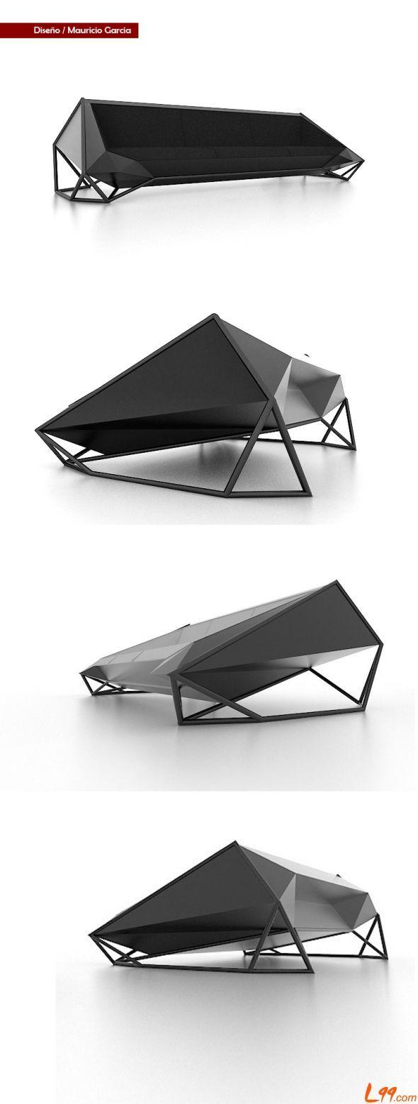 Cool Sofa, by mauricio david garcia vargas