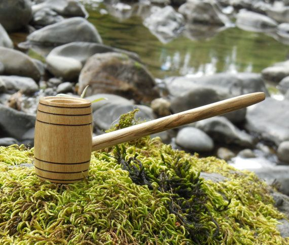 Brew Barrel Pipe No Pipe Stand Required by FloggleWerks on Etsy