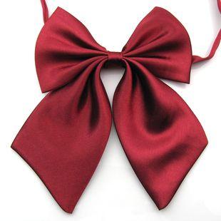 solid bow tie knots women's butterflies butterfly bowtie
