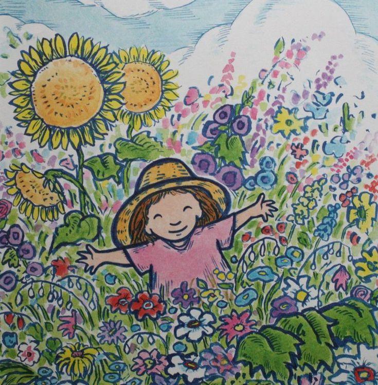 My Garden Kevin Henkes Henkes Watercolor And Ink