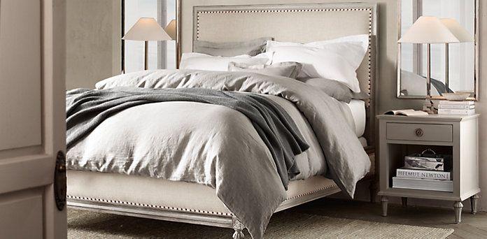 Maison collection | Restoration Hardware #bedroom