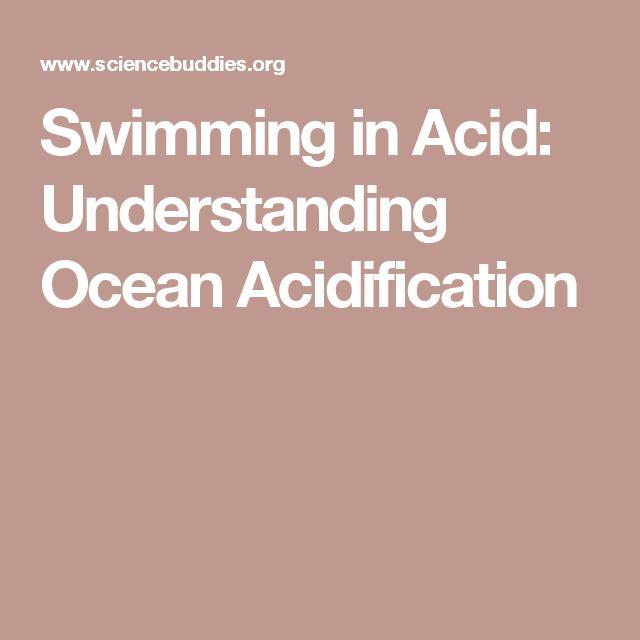 Swimming in Acid: Understanding Ocean Acidification