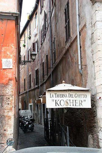 Jewish 'Ghetto', Rome, Italy