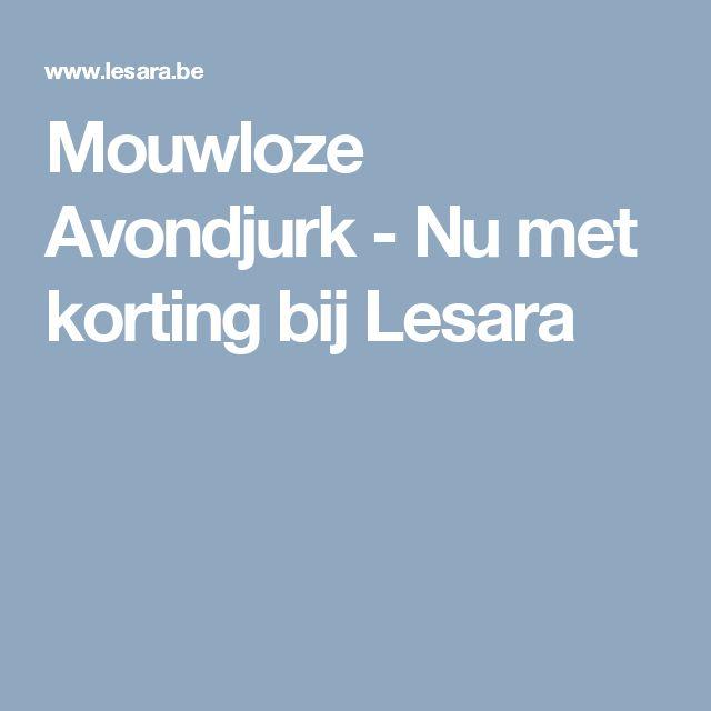 Mouwloze Avondjurk - Nu met korting bij Lesara