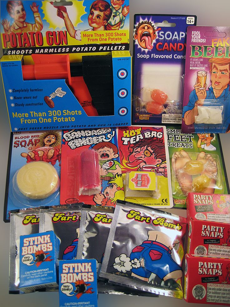 STARTER PRANK KIT V4.0...... The latest addition to our line of Starter Prank Kits is the new Starter Prank Kit v4.0. Loaded with even more pranks for the serious jokester.  Keep your friends and family on their toes with our new gag kit. www.theonestopfunshop.com