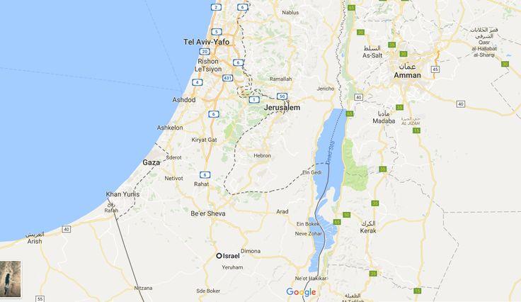 Heboh... Google Hapus Palestina di Google Maps