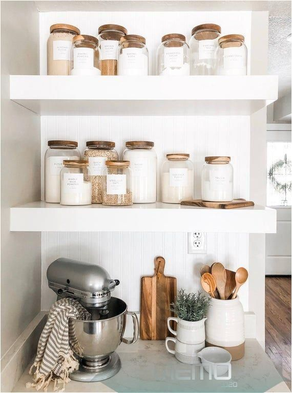Jun 16 2020 This Pin Was Discovered By Kelyn Martinez Discover And Save Your Own Pins On Pintere In 2020 Pantry Labels Baking Station Small Kitchen Organization