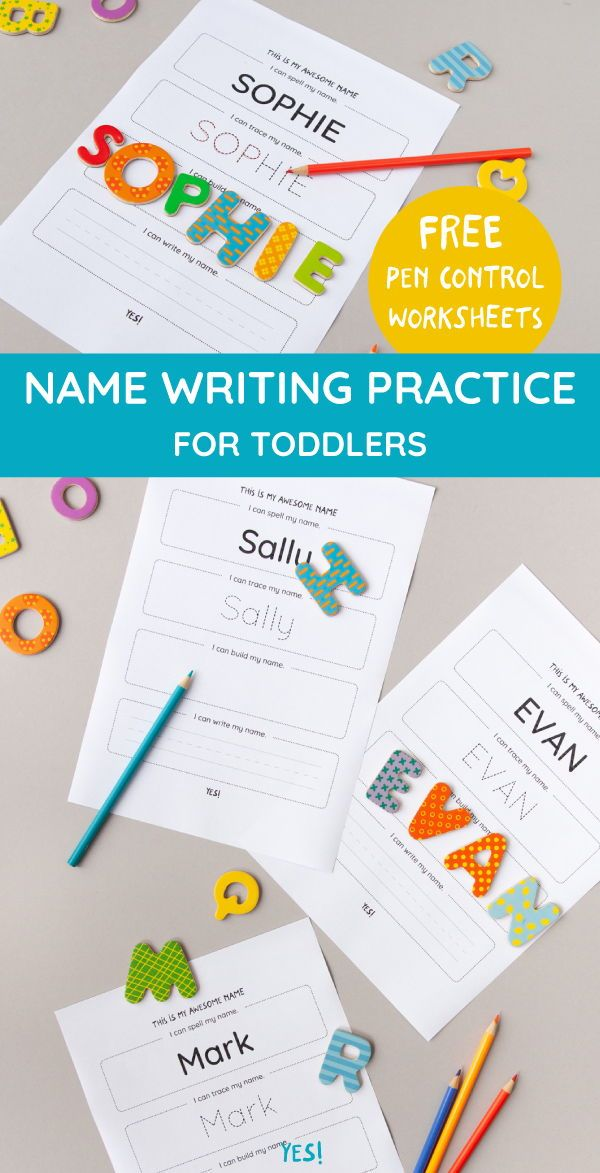 Practice Name Writing Name Tracing Worksheet Yes We Made This Pre Writing Activities Preschool Learning Activities Name Tracing Worksheets Pen control worksheets