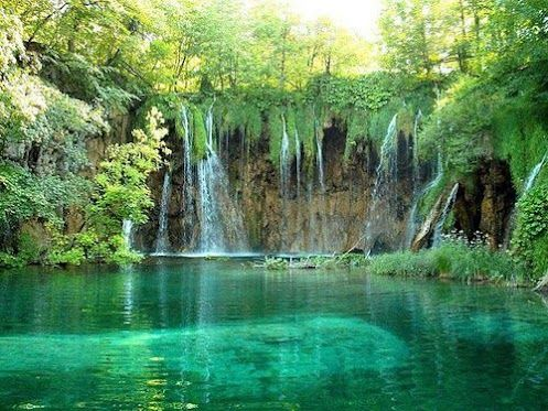 waterfalls of drimonas, Evia, Greece
