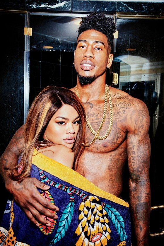 A look at the sexiest couple on earth - Teyana Taylor and Iman Shumpert