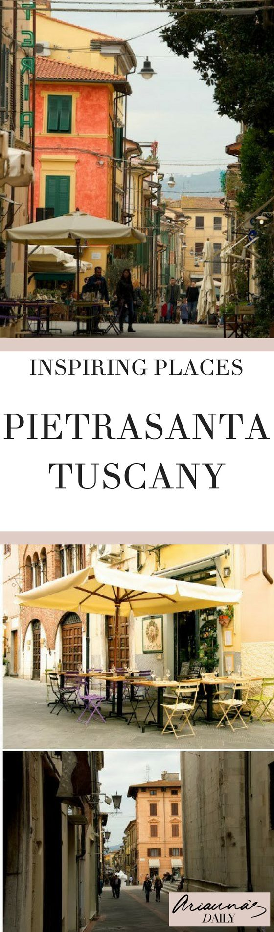 Looking for somewhere inspiring to visit on your Tuscany trip? Why not try Pietrasanta - A historic medieval and artistic town in northern Tuscany, it is also known as the 'city of artists' or 'small Athens' for its marble studios and beautiful monuments. #tuscany #travelblogger #pietrasanta