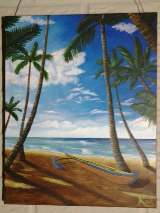 Hawaii beach scene #kaizart facebook and instagram | My ...