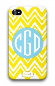 Zig Zag Yellow mycustomcase.com