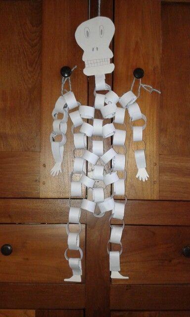 Skelet van papier