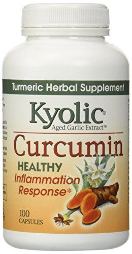 Kyolic Aged Garlic Extract Curcumin Healthy Inflammation Response Supplement 100Capsules * You can get additional details at the image link. (It is an affiliate link and I receive commission through sales)
