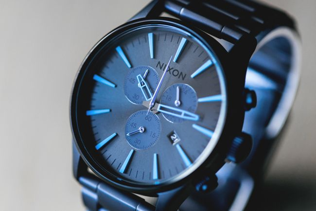 Nixon Sentry Chrono in Deep Blue LTD Available Now | Feature Sneaker Boutique