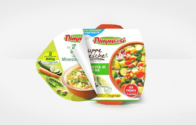 DimmidiSì - Le Zuppe Fresche on Packaging of the World - Creative Package Design Gallery