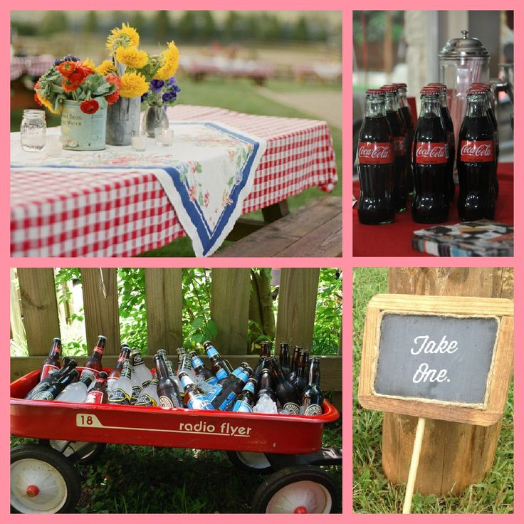 Best 25 picnic party decorations ideas on pinterest - Decorative tables for party ...