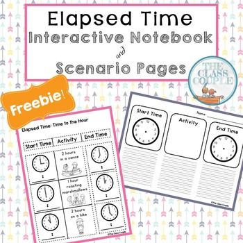 Time Worksheets time worksheets one hour later : 1000+ images about Math: Time (Elapsed) on Pinterest | Assessment ...