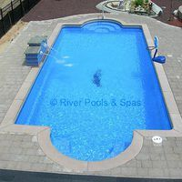 There are basically three different types of in ground pools: concrete, vinyl liner and fiberglass. The first two types are built on-site while a fiberglass pool's shell is already manufactured, then installed on site. The main advantage of a fiberglass pool is that over the long term it will require far less repair maintenance than concrete or...