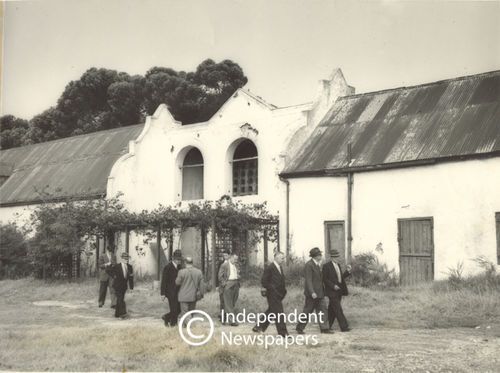 The dovecote at Koornhoop in Mowbray, Cape Town