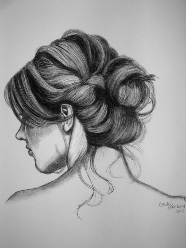 Brilliant 1000 Images About Drawings Hair On Pinterest Drawing Hair Short Hairstyles Gunalazisus