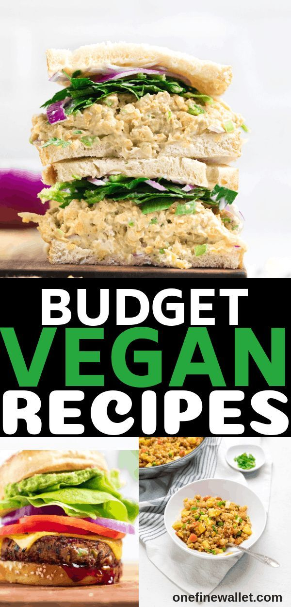 Vegan On A Budget 14 Day Cheap Vegan Meal Prep Ideas One Fine Wallet Vegan Recipes Healthy Vegan Dinner Recipes Plant Based Recipes Easy