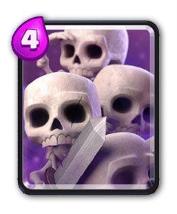 Clash Royale Esqueletos