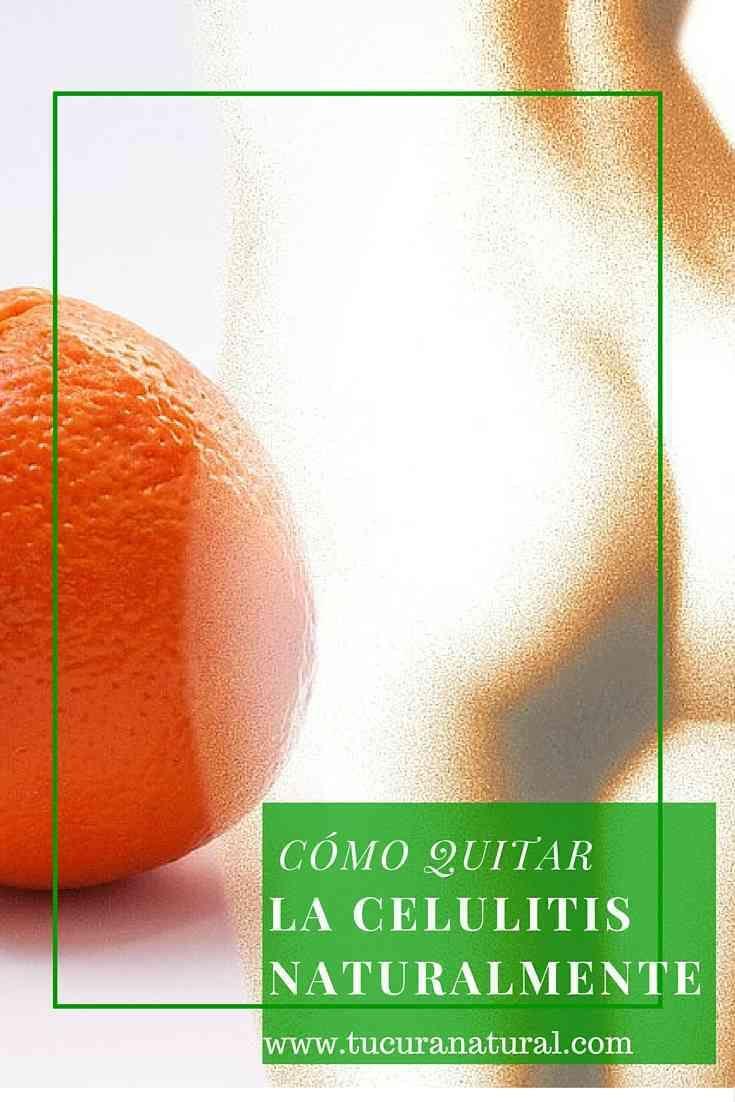 Cómo quitar la celulitis de manera natural