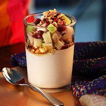 (6 pp) Yoghurt med frukt och nötter