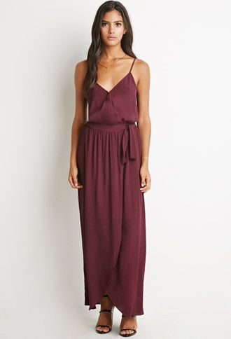 Surplice Cami Maxi Dress | Forever 21 | #thelatest