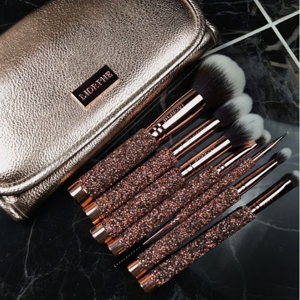 Morphecan just have my wallet. They are KILLING it with the hot new items they've been dropping! Next, Morpheis releasing a NEW collection for the holiday called Dare To Create on Tuesday, 11.07! The collection includes theDare To Create eyeshadow palette ($32), the 15D & 15N Eyeshadow Palettes (each $15), the Bling It On Brush Collection ($79) &Paint The Town &Daring MetallicLiquid Lipstick Sets ($12).