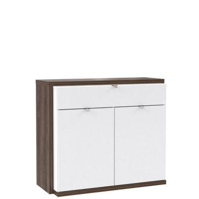 Druga komoda z nowej kolekcji mebli Forte- kolekcji ALCANO. Nowoczesny, biały design to motyw przewodni tej kolekcji. Inne meble z tej kolekcji dostępne na stronie http://www.forte.com.pl/pl