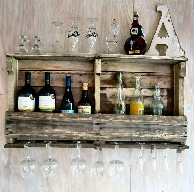 17 Best Ideas About Pallet Shelves On Pinterest