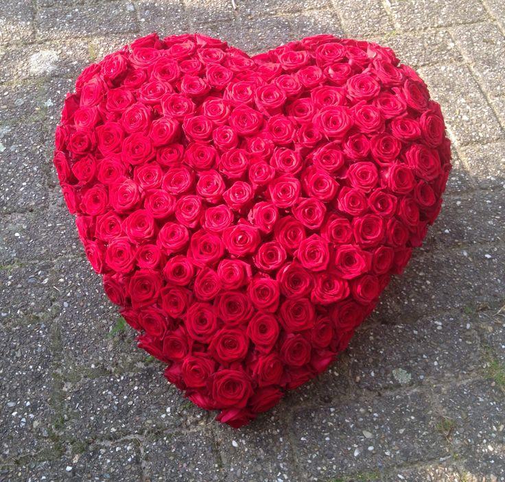 Mooie rozen #180rednaomie# Verwerkt in hart