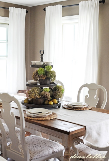 Love This Tiered Tray Dear Lillie Jamie And Joshs Dining Room Swap New Harvest Sign