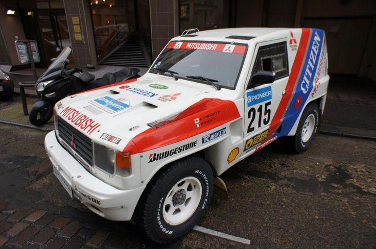 1986 Mitsubishi Pajero DAKAR Classic Driver Market
