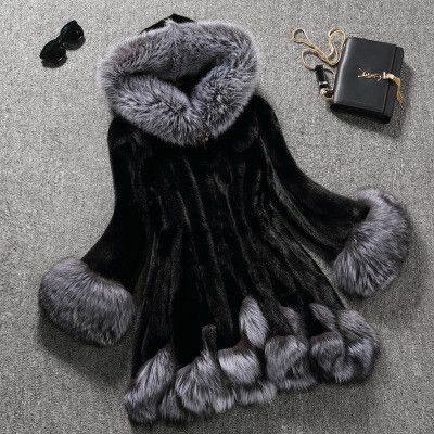 New Design Fashion 2015 Winter Women Faux Fox Mink Fur Coat Woman Luxury Medium Long Fake Fur Coats Mujer Female Overcoat Ladies